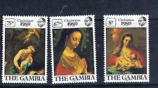 Gambia – Christmas 1980 (F85) – Free postage
