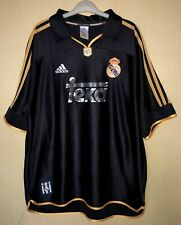 FC REAL MADRID 19992001 AWAY FOOTBALL JERSEY CAMISETA SOCCER SHIRT VINTAGE