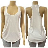 Victorias Secret Racerback Tank Top Shirt White