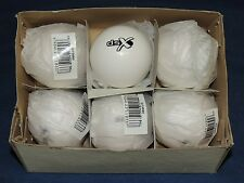 DSX Practice Hockey Balls - Box of 6 Smooth