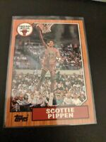 1992-93 Topps Archives Basketball #97 Scottie Pippen Chicago Bulls Rookie RC