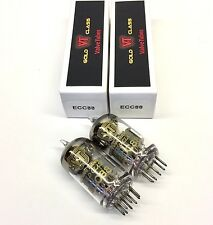 Matched Pair  ECC88  6DJ8  6922 New Valve Tubes Gold Class Russian