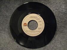 "45 RPM 7"" Record  James Ingram Come A Da Machine & Yah Mo B There Qwest 7-29394"