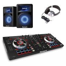 Numark Mixtrack Platinum USB DJ Controller with N-Wave 580L & HF125 Headphones