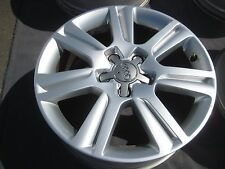 "1 SINGLE TAKE OFF 17"" AUDI A4 OEM FACTORY WHEEL RIM A6 A8 S4 58836"