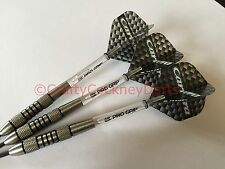 24g Nodor Nimrod Tungsten Darts Set, Target Carrera Flights, Pro Grip Stems