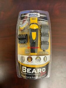 WAHL Sport BEARD Body Hair RECHARGEABLE Self-Sharpening Blade Precise Trimmer