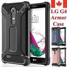 For LG G4 - Dual Layer Hybrid Shockproof Heavy Duty Hard Armor Cover Case