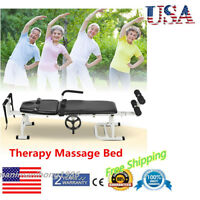 Stretching Cervical Spine Lumbar Therapy Massage Bed Relief Sciatica Back Pain