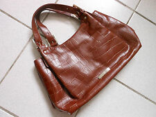 Bolso de mano de tom tailor, marrón, como nuevo!