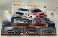 SALE!  5 Car Set POWER TRIP * 2020 Hot Wheels Car Culture Case T