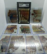 1995 Fleer Metal Slick Silver COMPLETE INSERT SET! Michael Jordan 9.5 GEM MINT!!