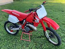 1988 Honda CR250R Vintage Dirt Bike! CR 250R. 125 250 500 AHRMA MX Desert Racing