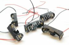 10 Pcs 23A / A23 Battery ( 12V ) Clip Holder Box Case Black 10 pc