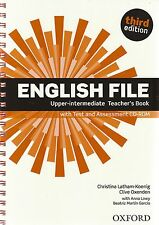 ENGLISH FILE Upper-Intermediate Third Ed TEACHER BOOK +Test & Assesment CD @New@