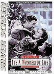 Its a Wonderful Life DVD Uncut Silver Screen Classics Brand New Free Shipping