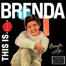 BRENDA LEE - THIS IS BRENDA (NEW SEALED CD) ORIGINAL RECORDING
