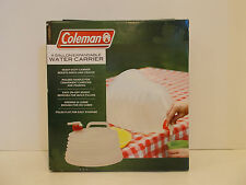 Coleman 4 Gallon Expandable Water Carrier Camping jug storage take along refill