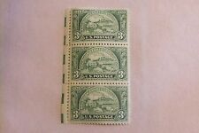 $0.3 Cents American Bankers Association 1875-1950 Stamp Plate Block of 3