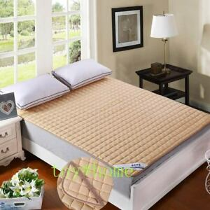 High Quality Quilted Mattress Cover with Elastic Topper with Stuffing/fillings