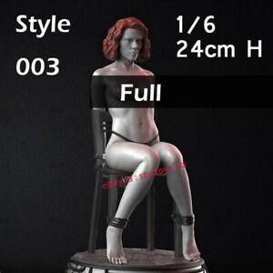 Lara Female 1//6 Figure 3D Printing Model Kit Unpainted Unassembled 33cm//13inch