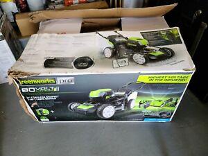 "Greenworks PRO 21-Inch 21"" digipro 80V  Cordless Lawn Mower  (GLM801601)"