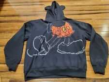 Mens Disney Parks Mickey Mouse Hoodie With Ears Black Size XL XLarge Full body