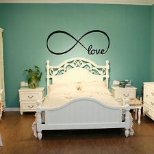 Love Removable Wall Stickers Art Vinyl Quote Decal Mural Home Bedroom Decor FS