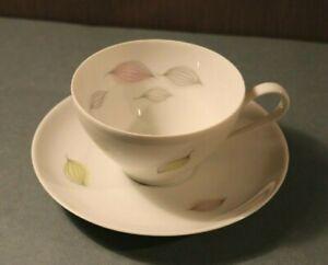 CB4-2f) Thomas Porzellan Tasse Ø 9,5cm Untertasse Ø 15cm Kaffeetasse Kaffee Tee