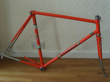 Peugeot PX10 frameset, 1976, Reynolds 531 5/10mm, Rare Orange livery - VGC