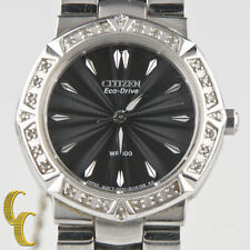"Citizen Lady's ""Eco-Drive"" Stainless Steel Wrist Watch Beautiful Gift for Her!"