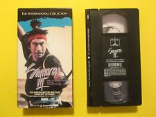 Samurai 3 - Duel at Ganryu Island Japanese Subtitled in English Foreign VHS