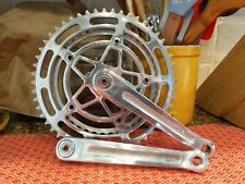 Vintage Stronglight 93 Double Crankset. 170mm  40/52 Chainrings