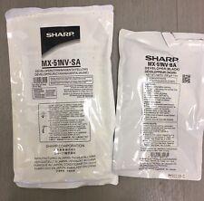 Sharp MX-51NV-SA (CMY) & MX-51NV-BA (Black) Developer