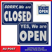 Quality Plastic Open Closed Sign Double Sided Business Necessary Tom-s718