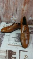 Van Bommel moergestel men's brown leather shoes size 9.5uk made in Holland di