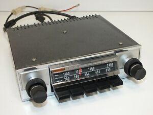 Very Tidy Radiomobile 970T Vintage Car Radio - Working - 12v Positive Ground