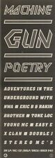 9/12/89Pgn11 Advert: 'machine Gun Poetry' Tone Loc Stereo Mc's & More 15x5