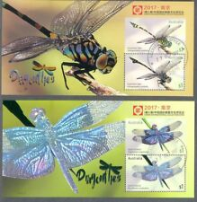 Australia-Dragonflies- China show set of 4 fine used cto -2017
