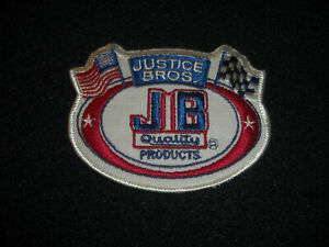 Justice Bros. Quality Products Patch Vintage 1980's