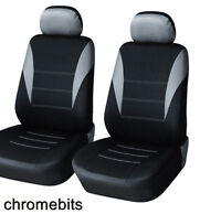 For Nissan Qashqai Juke Toyota Yaris Grey Black Seat Covers