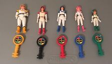 1984 Voltron Figures Complete Good Guys Hunk Keith Lance Pidge Princess Allura