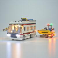 DIY LED Light Kit For LEGO 31052 Creator The Vacation Getaways Building Blocks