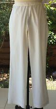 Anokhi Women's Trousers, White Indian Pajama Style, 100% Organic Cotton