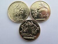 3 médailles touristiques jetons série Astérix 2015 Monnaie de Paris