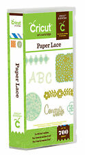CRICUT *PAPER LACE* ART & FONT CARTRIDGE *NEW* INTRICATE ACCENTS & BACKGROUNDS