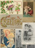 Theme Postcards Christmas Religion Women And More Postcard Lot of 20 01.05
