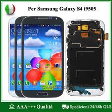 LCD Display Touch Schermo Digitizer + Frame Per Samsung Galaxy S4 i9500 i9505
