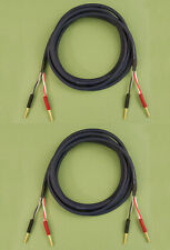 Straightwire Musicable II SC speaker cables 8' standard stereo pair NEW!