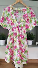 Señoras M&S Verano Playa Vestido Talla 16 (100% algodón)